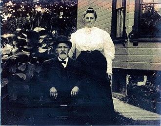 Daniel Myron LeFever - Daniel Myron Lefever and wife, Sarah