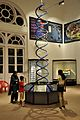 DNA Double Helix Model - Human Evolution Gallery - Indian Museum - Kolkata 2014-04-04 4473.JPG