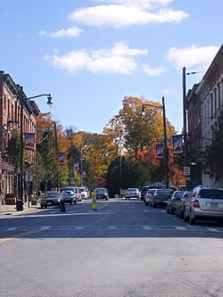 Village of Wappingers Falls, downtown
