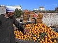 Dahar. Market. Tangerines. Price 1.75. - panoramio.jpg