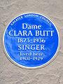 Dame CLARA BUTT 1873-1937 SINGER lived here 1901-1929.jpg
