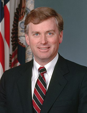 103rd United States Congress - Dan Quayle (R) (until January 20, 1993)