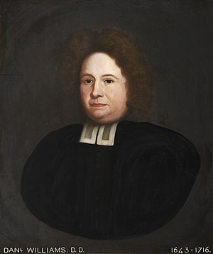 Daniel Williams (theologian) - Image: Daniel Williams (1643 1716)
