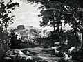 Das Kolosseum in Rom von Rudolf Wiegmann 1833.jpg