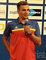 David Castro en la presentación de la prueba de Madrid de la XIV Copa del Mundo de Triatlón.jpg