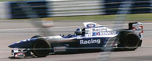 David Coulthard - Coulthard at the 1995 British Grand Prix