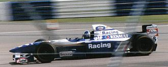 David Coulthard - Coulthard at the 1995 British Grand Prix