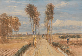 The Poplar Avenue, after Hobbema