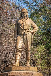 David Livingstone memorial at Victoria Falls