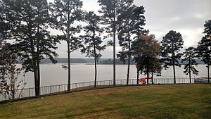 DeGray Lake Resort State Park - Lake view from the resort