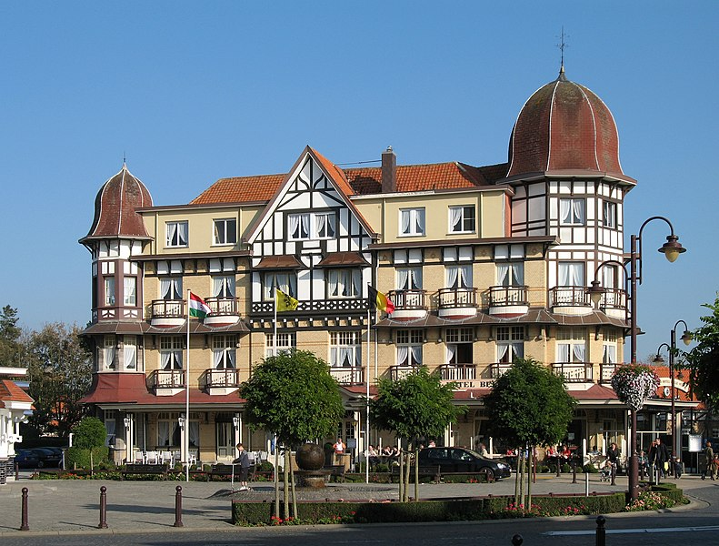 De Haan (Province of West Flanders, Belgium): Grand Hôtel Belle Vue