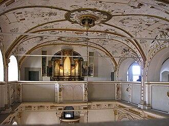 Wilhelmsburg Castle - Interior of the castle church