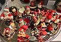 Decorative Santa nisse tomte figurines etc. (nissefigurer) Fretex (charity thrift shop) Lars Hilles gate, Bergen, Norway, 2017-11-01 c.jpg