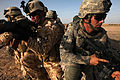 Defense.gov News Photo 100522-A-2016L-466 - U.S. Army soldiers from Delta Company 1st Battalion 37th Armor Regiment 1st Heavy Brigade Combat Team 1st Armored Division and Iraqi soldiers.jpg