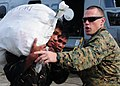Defense.gov News Photo 101022-N-5538K-063 - U.S. Marine Corps Capt. Bill Woodward from the 31st Marine Expeditionary Unit directs Philippine service members while loading supplies into a.jpg
