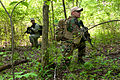Defense.gov News Photo 110512-A-PX072-36 - Army soldiers conduct a foot patrol while training at Camp Atterbury Joint Maneuver Training Center Ind. on May 12 2011. The soldiers assigned.jpg