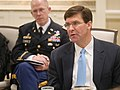 Defense Writers Group Breakfast with Secretary of the Army Dr. Mark T. Esper (42536639110).jpg