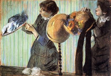 Degas Little Milliners
