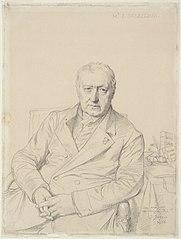 Portrait d'Étienne-Jean Delécluze
