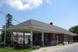 Ticonderoga station - Image: Delaware & Hudson Railroad Depot, Ticonderoga, NY