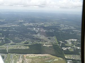 Sun City Hilton Head - Sun City Hilton Head, looking south west from 3,500ft.