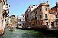 Der Rio di San Lorenzo, einer der Hauptkanäle Venedigs - panoramio.jpg