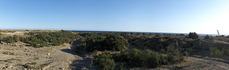Archivo:Desembocadura Río Andarax.JPG