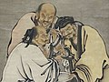 Detail of Three Sages Tasting Vinegar - 16th Century - Tokyo National Museum - Tokyo - Japan (40932269883).jpg