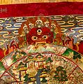 Detail of Yama, the Lord of Death, holding the Wheel of Life Wellcome V0017711.jpg