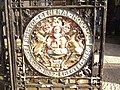 Detail of gates to Bristol General Hospital. - panoramio.jpg