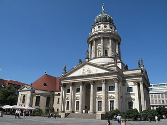 Otto Lessing (sculptor) - Gables and Statuary at the Deutscher Dom, as well as interiors