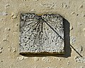 Deviat 16 Église mur sud cadran solaire 2014.jpg