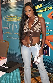 Diamond Jackson at Internext convention 2.jpg