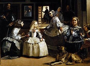 Diego Velázquez - Las Meninas (detail) - WGA24449