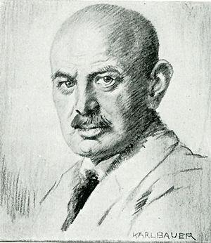 Dietrich Eckart - Dietrich Eckart depicted by Karl Bauer