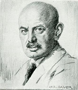 Dietrich Eckart - Image: Dietrich Eckart by Karl Bauer