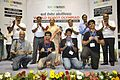 Dignitaries with Prize Winners - Valedictory Session - Indian National Championship - WRO - Kolkata 2016-10-23 9068.JPG