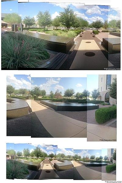 File:Dignity Health Mercy Gilbert Medical Center Healing Garden - panoramio.jpg