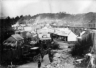 West Coast, New Zealand - Dillmanstown, a gold mining town