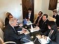 Dimitris Avramopoulos with Japanese Interior Minister Okonogi.jpg