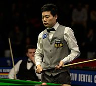 Ding Junhui and Ryan Day at Snooker German Masters (DerHexer) 2015-02-05 01.jpg