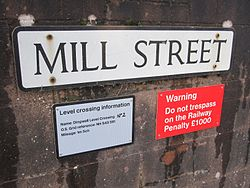 Dingwall No. 2 Level Crossing signs (11119669403).jpg