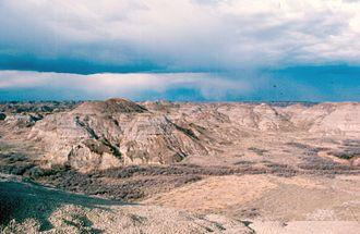 Geologic record - Image: Dinosaur Park Fm