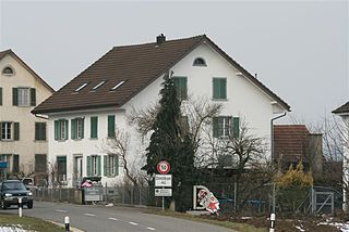 Dintikon Municipality in Switzerland in Aargau