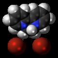Diquat dibromide 3D spacefill.png
