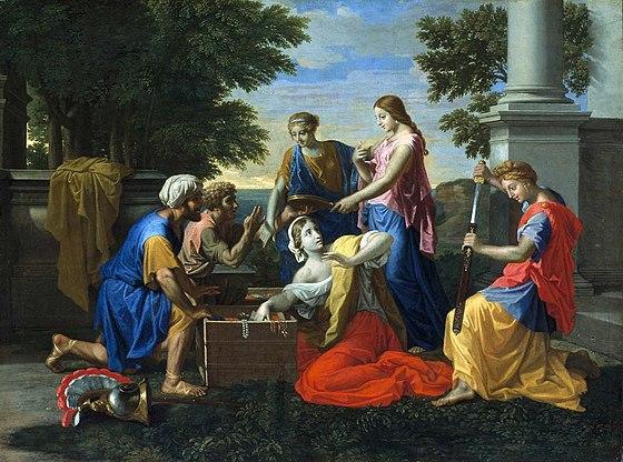 Achille parmi les filles du roi Lycomède