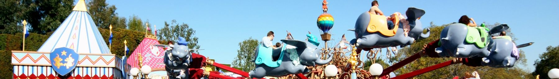The Dumbo ride