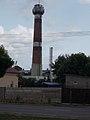 District heating plant, chimney, 2017 Kisvárda.jpg