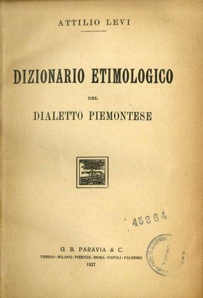 Dizionario Etimologico Pdf