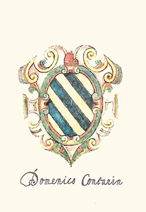 Domenico I Contarini - Coat of Arms of Domenico Contarini